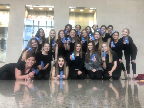 Dancers get the Dub - The Wakeland dancers flex their skills and bring home the blue ribbon.
