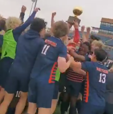 Wakeland boys claim the title of Semifinal Champions - The boys defeated Del Valle with a score of 4-2, ultimately making their way to the State Championship.